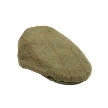 Corton Tweed Flat Cap von Tweedies