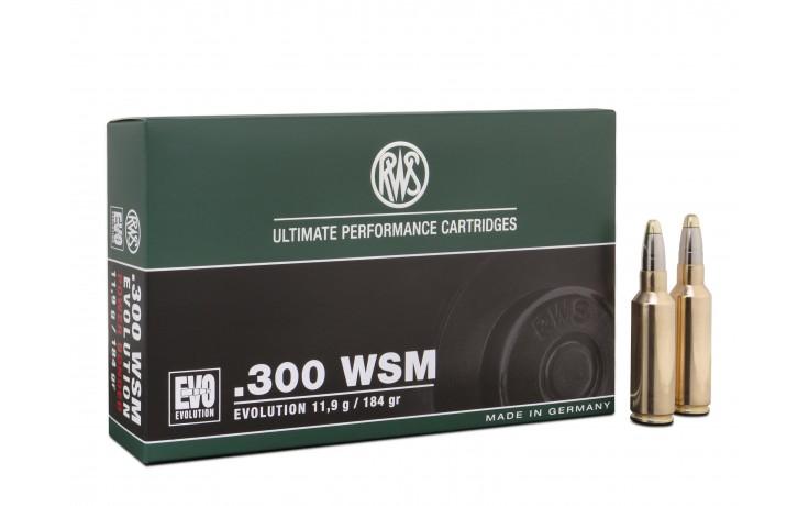 RWS .300 W.S.M EVO 11,9 gr