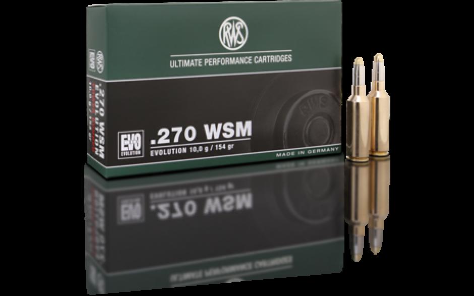 RWS .270 WSM EVO Green 6,2 gr