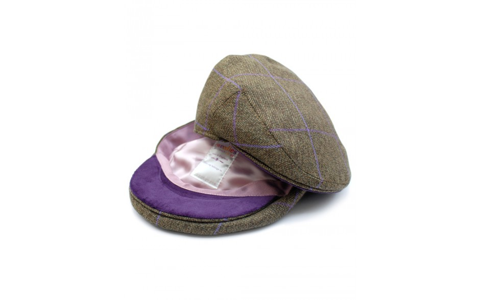 Langford Tweed Flat Cap von Tweedies